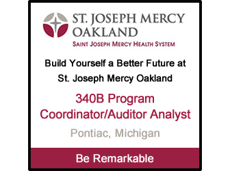 St. Joseph Mercy Oakland - 340B Program Coordinator/Auditor Analyst