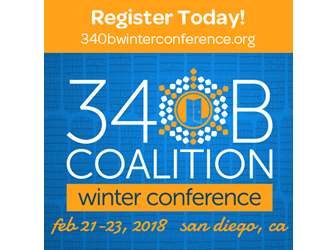 Register Now! 340B Coalition Winter Conference - Feb 21-23, 2018 - San Diego, CA
