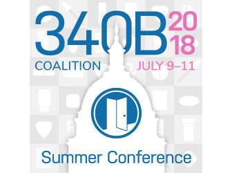 Register Now! 2018 340B Coalition Summer Conference - July 9-11 - Washington, DC